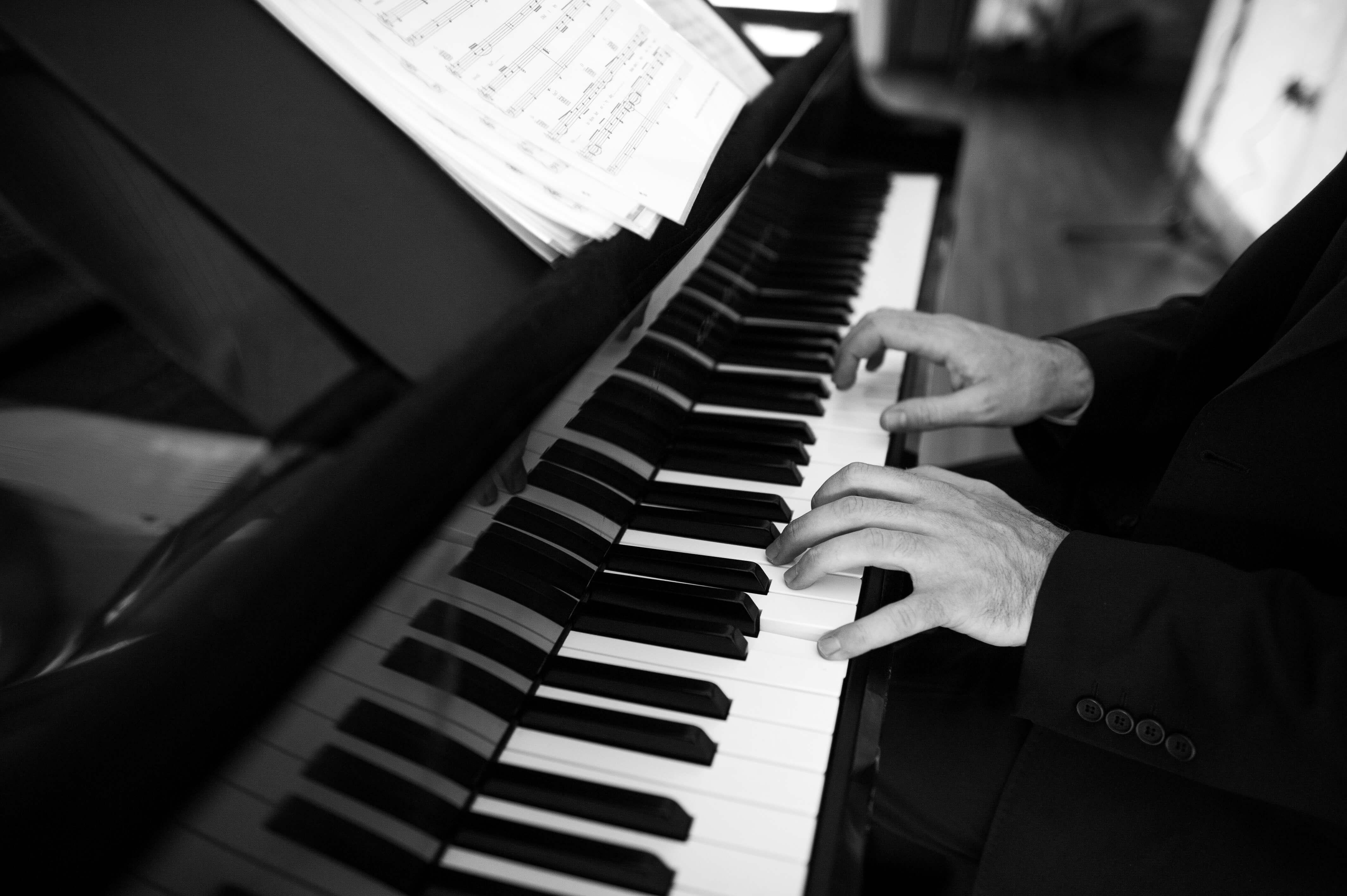 The Repertoire of Benjamin Clarke - The Wedding Pianist